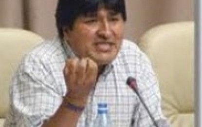 Evo Morales: El problema es el capitalismo
