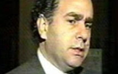 "Mario Cafiero habló del ""tren bala"" como asalto a arcas públicas"