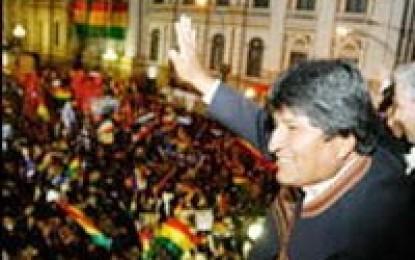 Bolivia avanza hacia pacto de concertación nacional