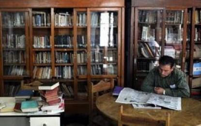 La biblioteca Almafuerte recibió este año un solo libro
