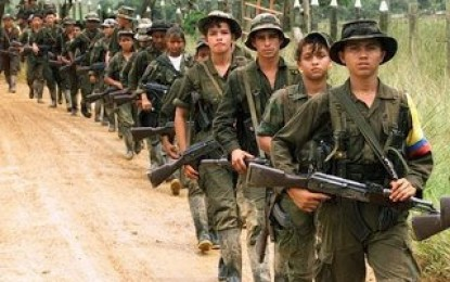 Las Farc no responden militarmente al ejército ecuatoriano