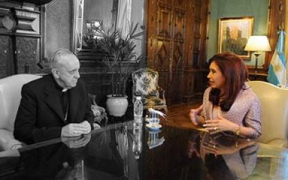 """Reunión de Cristina con el Episcopado: """"el Gobierno se debilita"""""""