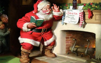 De San Nicolás al gordito Papá Noel