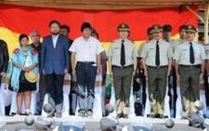 Morales llama a un pacto nacional antiterrorista para precautelar unidad de Bolivia