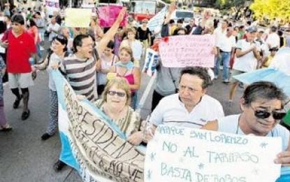 Movilización de Sitea por salarios