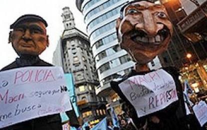 Marcharon a la jefatura de Gobierno porteña contra el nombramiento del ex comisario