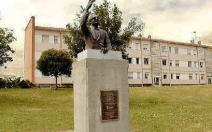 Un monumento a Salvador Allende en Gijón