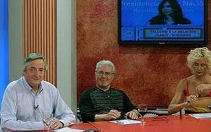Néstor Kirchner y su no entrevista en 6,7,8