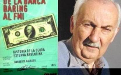 Debate entre Norberto Galasso y Alejandro Jasinski sobre la legitimidad de la deuda