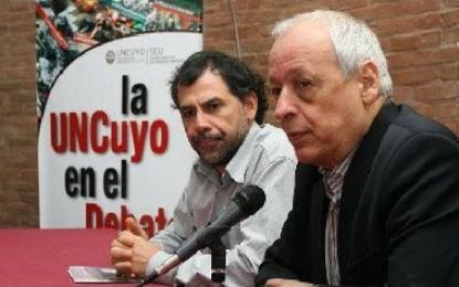 """Verbitsky en Mendoza: """"Miret no sólo juró por los estatutos militares, sino que los aplicó"""""""