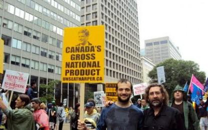 Uruguay contra Corea del Sur, Estados Unidos contra Ghana y la movilización contra el G20 en Toronto