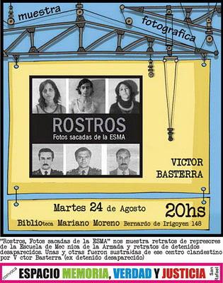 """""""Rostros"""": fotos sacadas en la ESMA"""