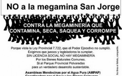 Un peligro, ahora inminente, se cierne sobre Mendoza