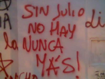 Juicios: sin Julio López no hay nunca más