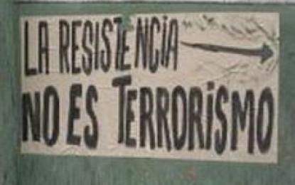 La ley antiterrorista y antidemocrática