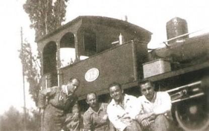 El viejo ferroviario todavía añora el paso del tren