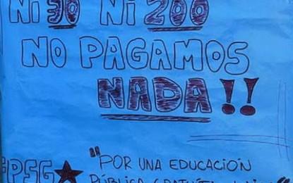 En San Rafael, el rector Maluenda dio la nota