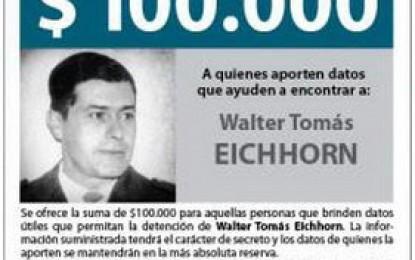 Genocida prófugo cuesta $100.000 más