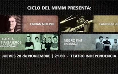 Última fecha de conciertos de MIMM