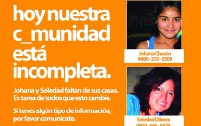 Mujeres Cotidianas pidió que los casos de Johana y Soledad se investiguen como trata