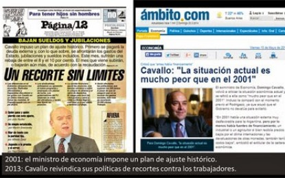 2001: la Argentina a la que no queremos volver