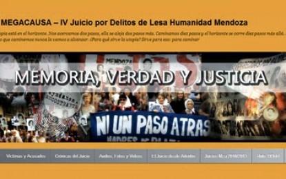 Nuevo blog sobre el megajuicio en Mendoza