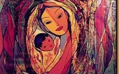 Para todas las madres, para las madres universales