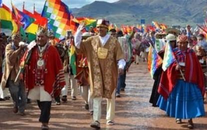 Evo Morales asumió su tercer mandato como presidente de Bolivia