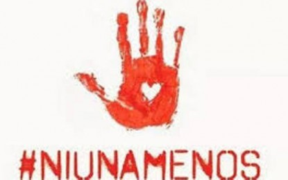 #Niunamenos y #Todasjuntas