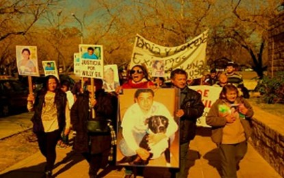 Las Madres en Lucha contra la violencia policial de Mendoza comenzaron sus rondas en Tribunales