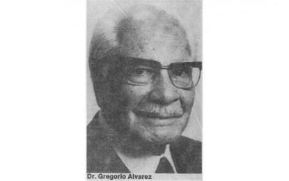Doctor Gregorio Álvarez: otro patriota olvidado