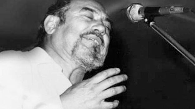 Tejada Gómez evocando a Ramón Ábalo en uno de sus poemas