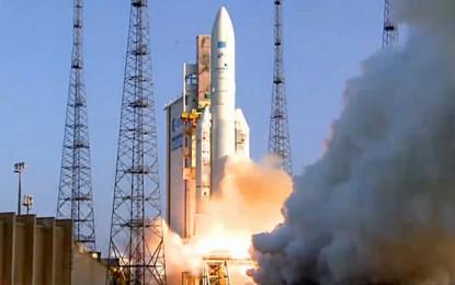 El ARSAT 2 fue lanzado con éxito al espacio desde la Guyana Francesa