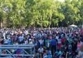 """Cientos de mendocinos se reunieron bajo la consigna """"Amor sí, Macri no"""""""