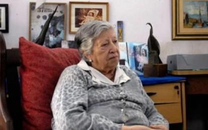 """Chicha sigue buscando a su nieta"""