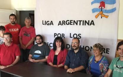 Presentaron la filial pampeana de la Liga Argentina por los Derechos del Hombre