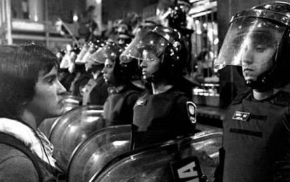 Protocolo Antipiquetes: Finalmente Macri se acordó de los trabajadores.