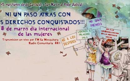 Marcha por el Día de las Mujeres