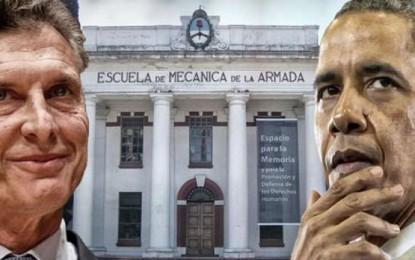 Declaración del Encuentro Memoria Verdad y Justicia: FUERA OBAMA DE ARGENTINA!