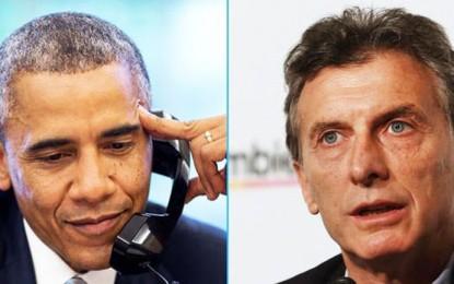 ¿A qué viene Obama? Obscena genuflexión macrista