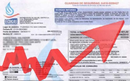 Llegan facturas de gas de hasta $ 4.000 en Mendoza