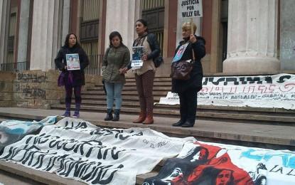 Las Madres en lucha contra la violencia institucional retomaron sus rondines en Tribunales