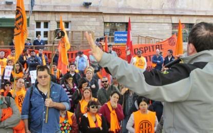 ATE hará otra huelga de estatales el 2 de junio
