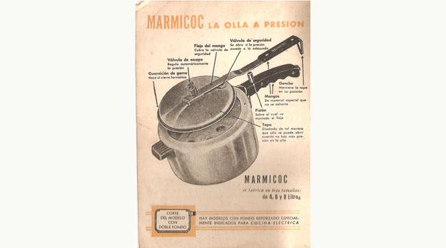 Olla a presion marmicoc manual de uso muebles de cocina for Manual para muebles de cocina