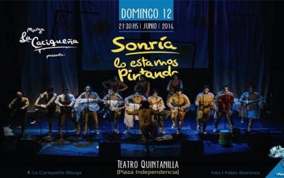Murga La Caciqueña en el Teatro Quintanilla