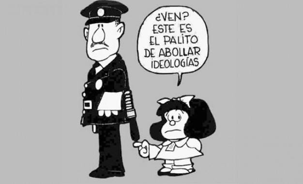 """La Noche de los bastones largos – """"Los bastones abolla ideología"""" (Mafalda)"""