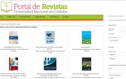 La Universidad Nacional de Córdoba creó un portal de revistas universitarias