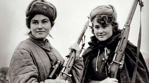La guerra no tiene rostro de mujer: las combatientes del Ejército Rojo