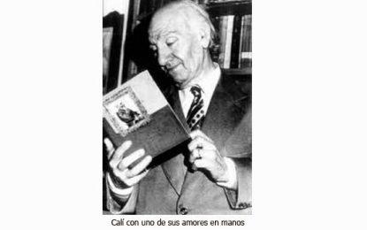 Américo Calí, poeta, abogado bibliófilo, anfitrión y gran amigo