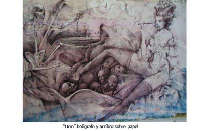 Osvaldo Chiavazza y su singular arte que viene de otros mundos